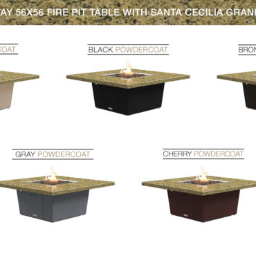 Santa Cecillia Granite Top - Color Configurations