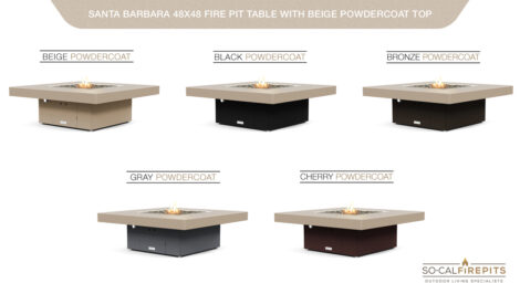 Beige Powdercoat Top - Base Color Options
