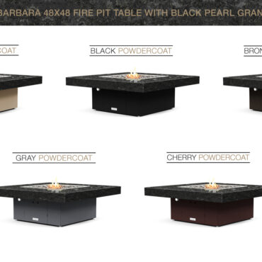 Black Pearl Granite Top- Base Color Options