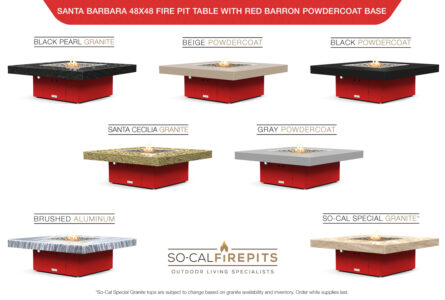 Red Barron Base - Top Color Options