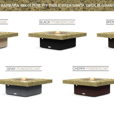 Santa Cecilia Granite Top- Base Color Options