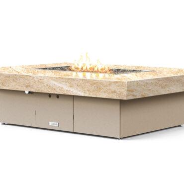 Santa Barbara Rectangular Fire Pit Table