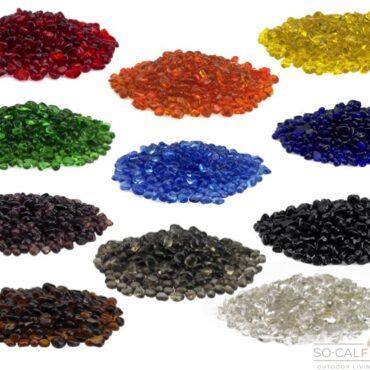 Eco Glass Fire Beads