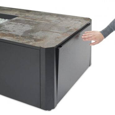 Easy Access To Propane Cylinder or Interior of Table