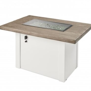 Outdoor Greatroom Driftwood Havenwood Includes Fire Pit Cover