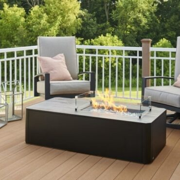 Outdoor Greatroom Kinney Fire Pit Table