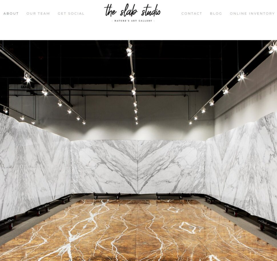 Visit the slab studio