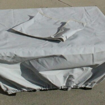 Cloth Fire Pit Table Cover Included