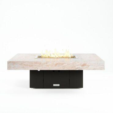 COOKE Santa Barbara, Kashmire Cream Granite Top, Black Base