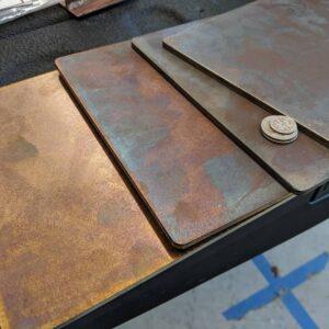 COOKE Burnished Steel